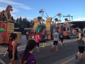 Parade floats