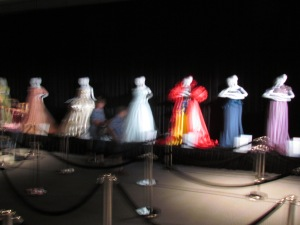 From Harrod's, a set of Disney-inspired dresses interpreted by famous designers.
