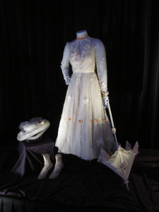 One of the costumes worn by Julie Andrews as Mary