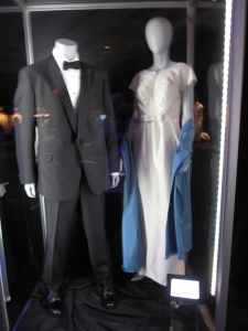 Walt Disney (Tom Hanks) and P.L. Travers (Emma Thompson) costumes from Saving Mr. Banks.