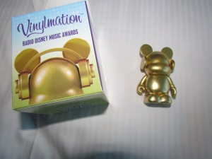 Another vinylmation, available in several colors -- we both got gold.