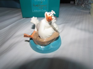 A collectible figurine;  we both got Scuttle so I'm not sure if everyone got the same or if there were other possibilities here.