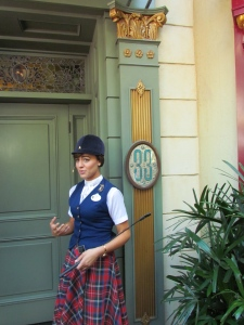 In front of Club 33