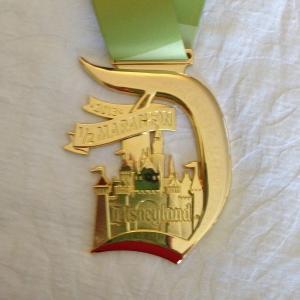 Disneyland Half medal