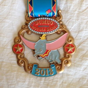 Dumbo Double Dare medal