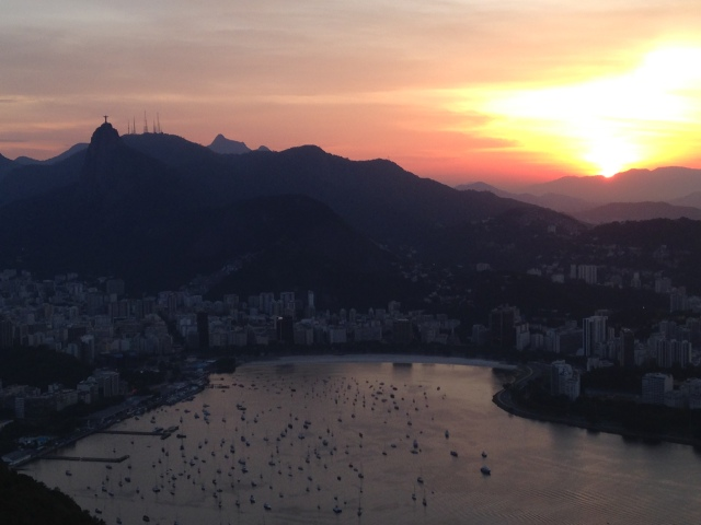 Corcovado at Sunset