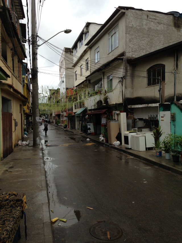 Nearby Favela