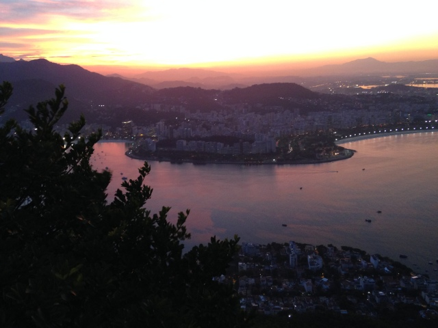 Sunset from Sugarloaf