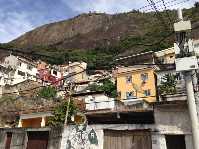 Up at the Favela